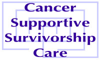 Cancer Supportive and Survivorship Care Website Improving Quality of Life Logo