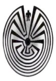 Man In The Maze From the Tohono O'Odham Nation of Southern Arizona
